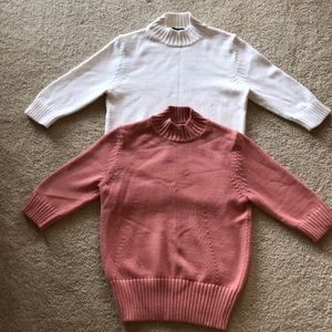 Ann Taylor 3/4 Sleeve Sweaters